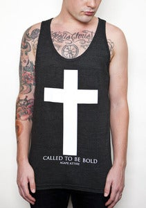 "Image of ""Called To Be Bold"" Black Tank"