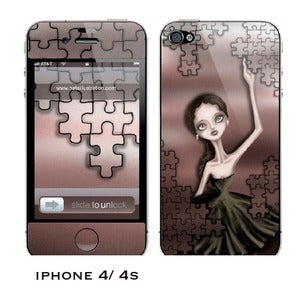Image of Iphone 4/4s skin - &quot;The Puzzle&quot;