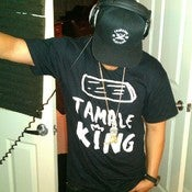 Image of TAMALE KING TSHIRT (BLACK)