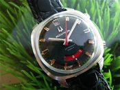 Image of MEGA-RARE ACCUTRON ASTRONAUT MARK II - RED RED RED! SOLD SOLD SOLD