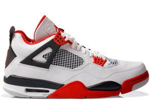 "Image of Air Jordan Retro 4 ""FIRE RED"" 2012"
