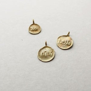 Image of Little Embossed Pendants