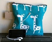 "Image of ""Gadgety"" Yarn Pop - Turquoise Giraffes"