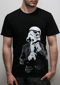 Image of Smarttrooper -Mens/Unisex T-Shirt on Black