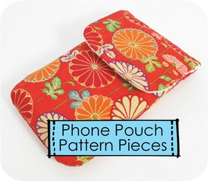 Image of Just Pattern Pieces - Basic Phone Pouch
