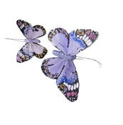 Image of Monarch Butterfly Clips - Lilac