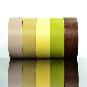 Image of Shades of Brown Washi Tape