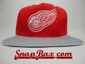 Image of Vintage Deadstock Red Wings Twins Snapback Hat Cap