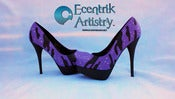 "Image of ""Beautiful Dream (aka ""Purple Haze"") Custom High Heels (1-of-1)"