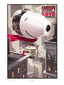Image of Snoopy LOVE standard edition Dark Hall Mansion Poster