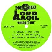 Image of LORD AAQIL &quot;Check it Out&quot; 12&quot; ***SOLD OUT*****