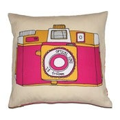 Image of Holga Camera Cushion - Pink or Blue Design
