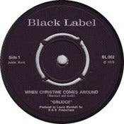 Image of Grudge - When Christine Comes Around 7&quot;