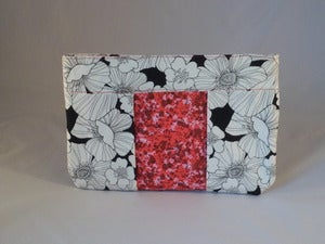 Image of Black and Red Clutch/Pouch