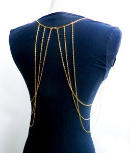 Image of Gold Body Chain