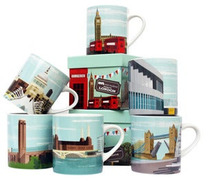 Image of London Mugs - Set of Six