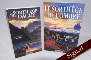 Image of Daggerspell and Darkspell by Katharine Kerr (French)