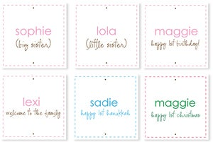 Image of PERSONALIZED MESSAGE LABELS
