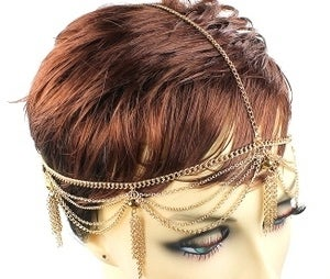 Image of Gold Headchain