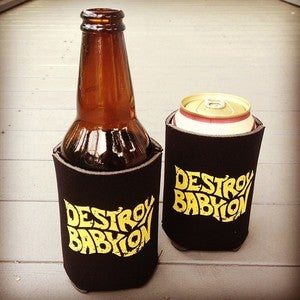 Image of Destroy Babylon - Beer Koozie