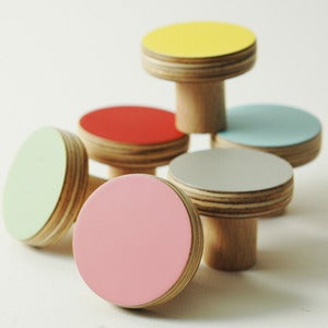 Image of KNOBS plain colours