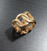 Image of Classic Gold Chain Ring