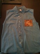 Image of Custom Denim Shirt Vest