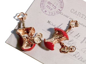 Image of The Red Relished Apple Cufflinks NEW!