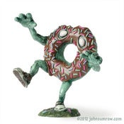Image of Mr. Jimmies - The Undead Doughnut (Chocolate Lover)