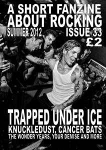 Image of ASFAR issue 33 - summer 2012 - SOLD OUT!