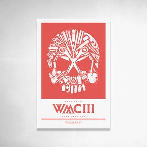Image of Skull Handbill (Red) 6x9