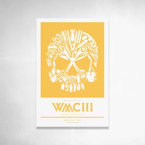 Image of Skull Handbill (Yellow) 6x9