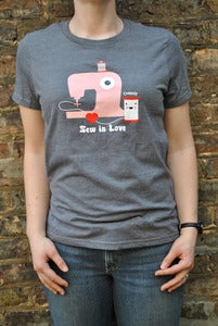 Image of Sew In Love - Now on an eco-friendly shirt!