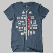 Image of Chicago Neighborhoods T-Shirt
