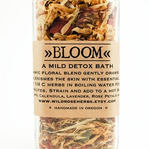 Image of Bloom - Herbal Detox Bath Jar 1oz