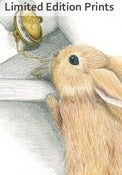 Image of Looking for the White Rabbit - Framed or Unframed Print.