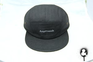 Image of Amprsnds 5-Panel Cap - Black