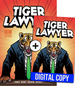 Image of Tiger Lawyer #2 - Deluxe Print &amp; Digital Edition Combo