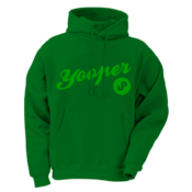 Yooper Hoodie - Kelly Green
