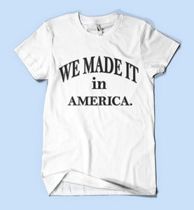 Image of We made it in America