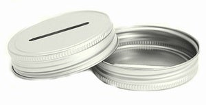 Image of Coin Slot Mason Jar Lid