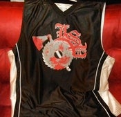 Image of LSP BLACK/WHITE BASKETBALL JERSEY
