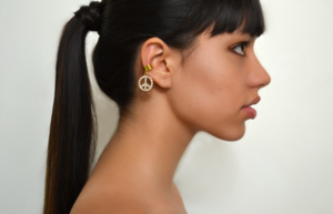 Image of Peace earcuff-two versions