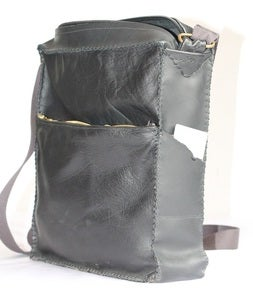 Image of Minku Messenger bag in black