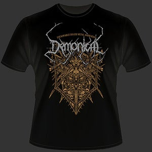 Image of Inexorable Death Metal Darkness T-Shirt