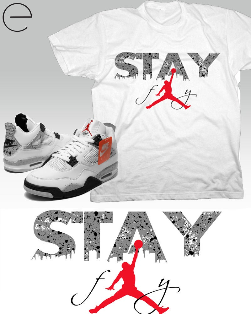 Image of STAY FLY (WHITE)