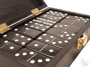 Image of TheGoodLife! x GoodWood Hand Made Wooden Dominoes