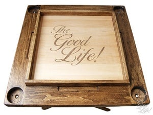 Image of TheGoodLife! x GoodWood Hand Made Wooden Domino Table
