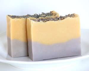 Image of Lemon Lavender Natural Goat's Milk Soap With Shea Butter