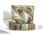 Image of Rosemary Lemongrass Natural Goat's Milk Soap With Shea Butter